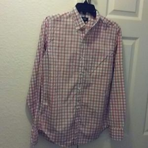 J. Crew Mens Plaid Shirt